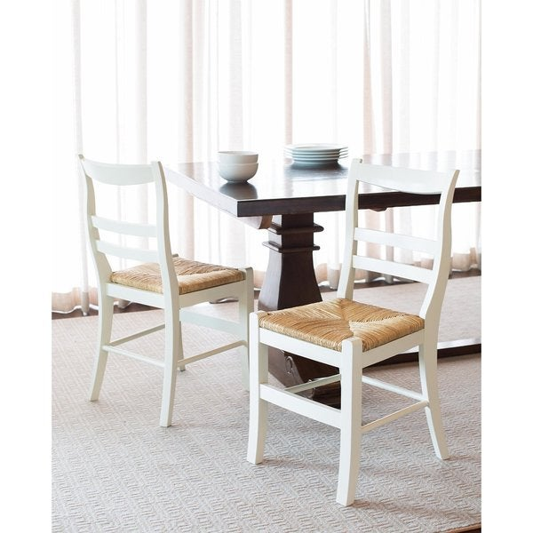 Birdrock Home Dining Chair With Woven Rush Seat