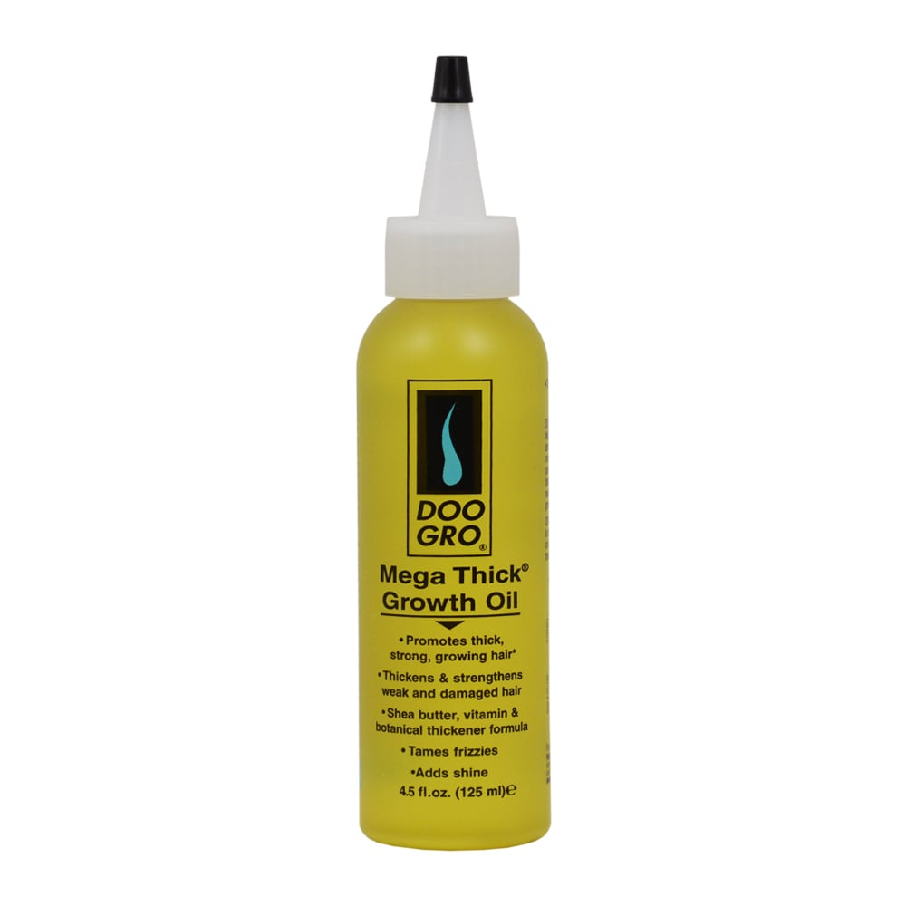 Doo Gro Mega Thick Growth 4.5-ounce Oil, Yellow butter