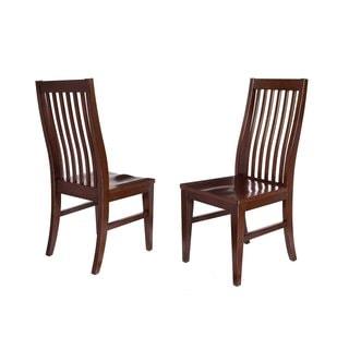 BirdRock Home Slat Back Side Chair