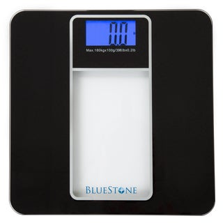 Bluestone Digital Glass Bathroom Scale with LCD Display