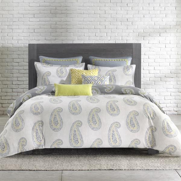 Echo Design Madira Cotton 3-piece Duvet Cover Set