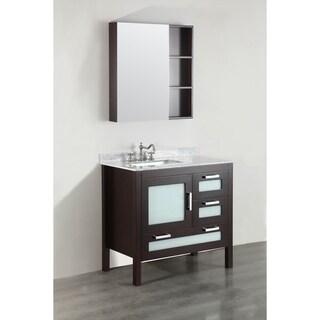 Bosconi SB-251-1ECM 37-inch Single Vanity with Mirror