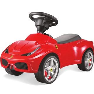Best Ride On Cars Ferrari Push Car Red