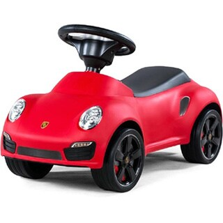 Best Ride On Cars Porsche 911 Turbo Push Car Red