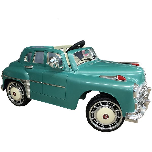 Best Ride On Cars Ride On 1949 Classic 12V Teal