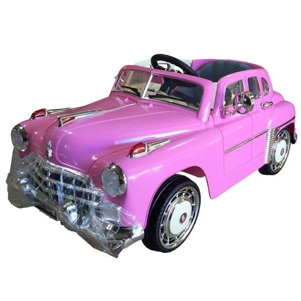 Best Ride On Cars Ride On 1949 Classic 12v Pink Free