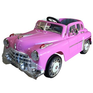 Best Ride On Cars Ride On 1949 Classic 12V Pink