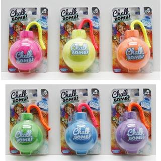 Lanard Chalk Bomb! Outdoor Powder Bombs - 6 Packs