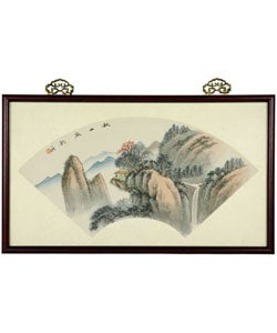 Mountain Retreat Watercolor (China)