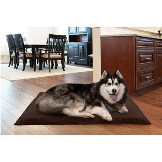 Furhaven NAP Deluxe Orthopedic Terry Top Dog Bed|https://ak1.ostkcdn.com/images/products/11749935/P18663894.jpg?impolicy=medium