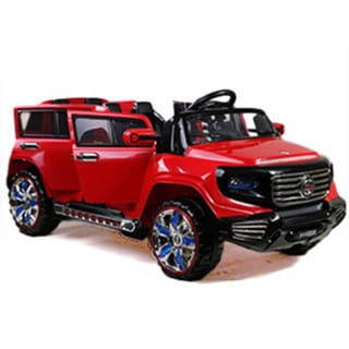 Best Ride On Cars Big 2 Seater 12V Red