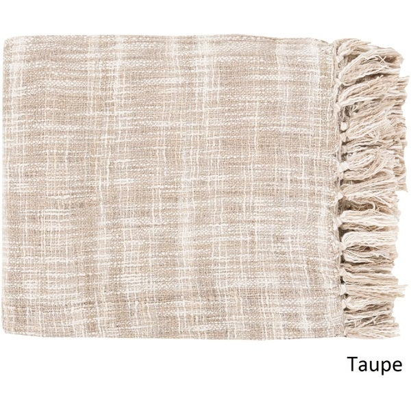 """Newquay Woven Cotton Throw (49"""" x 59""""). Opens flyout."""
