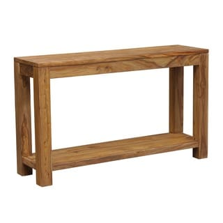 Wanderloot Urban Sustainable Sheesham Contemporary Console Table