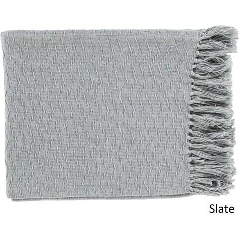 Intect Woven Cotton Throw (50 x 60)