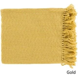 """Intect Woven Cotton Throw (50"""" x 60"""")"""
