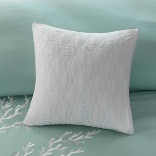 Harbor House Coastline Cotton Square Pillow