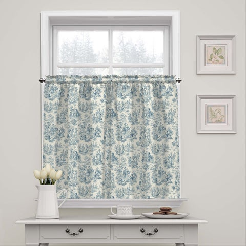 Waverly Charmed Life Window Tier Pair - 52X36