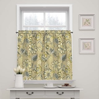 Waverly Brighton Blossom Window Tier Pair