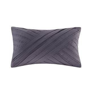 Natori Abstract Stripe Cotton Oblong Pillow