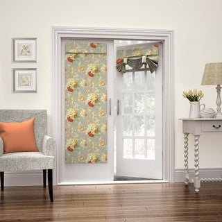 Waverly Sanctuary Rose French Door Panel (2 options available)