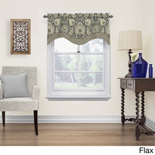 Waverly Clifton Hall Scalloped Window Valance (3 options available)