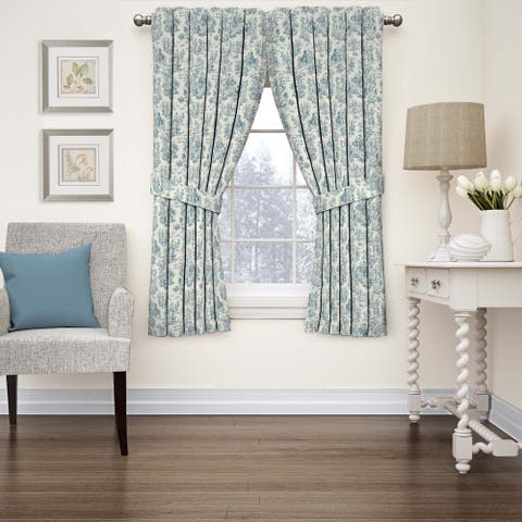 Waverly Charmed Life Toile Window Curtain