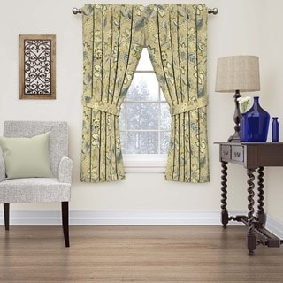 Waverly Brighton Blossom Floral Window Curtain