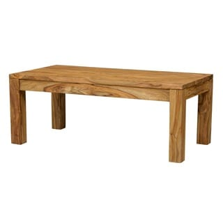 "Wanderloot Urban Sheesham Contemporary Coffee Table (India) - 18""H x 24""W x 46""L"