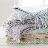 "Opal Knit Cotton/Viscose Throw (50"" x 60"")"