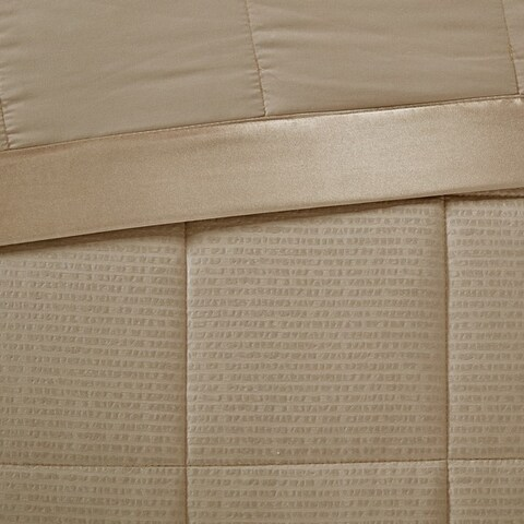 Madison Park Parkman Premium Oversized Blanket with 3M Scotchguard