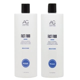 AG Hair Fast Food 33.8-ounce Shampoo & Conditioner Set