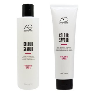 AG Hair Colour Savour Shampoo 10-ounce & 6-ounce Conditioner Set
