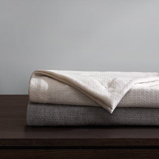 Madison Park Signature Luxury Wool Oversized Bed Throw