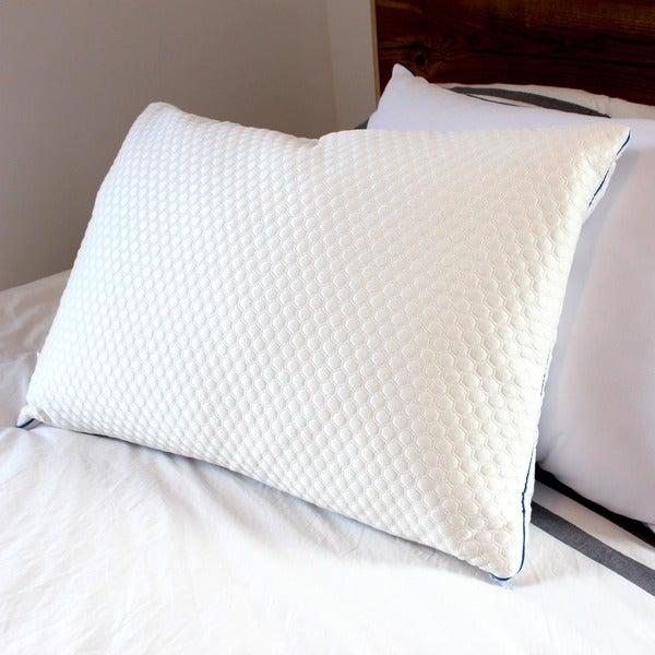 Reverie Dual Slumber Down Alternative and Memory Foam Pillow