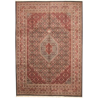 Herat Oriental Indo Hand-knotted Bidjar Wool Rug (9'10 x 13'10)