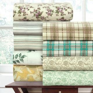 Wilshire Hill Luxurious Cotton Flannel Sheet Sets