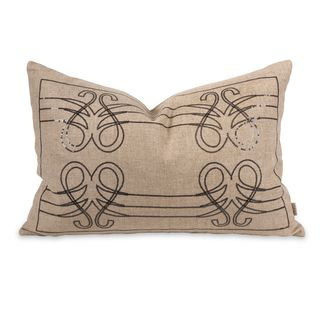 IK Operetta Sequin Pillow w/ Down Insert