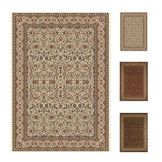 Home Dynamix Beige Regency Collection Traditional Machine Made Polypropylene Area Rug (12'5 x 15'8)