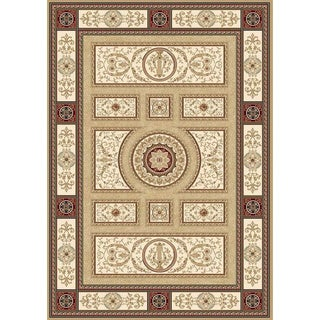Home Dynamix Regency Collection Traditional Machine Made Polypropylene Area Rug (12'5 x 15'8)