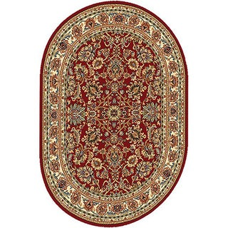 Home Dynamix Royalty Collection Traditional Oval Machine Made Polypropylene Accent Rug (31 x 50)