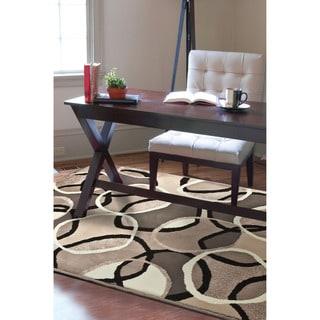 Carolina Weavers Finesse Collection Lapel Multi Area Rug (6'7 x 9'8)
