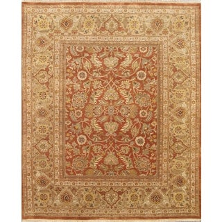 Pasargad Sultanabad Hand Knotted Camel Gold Wool Rug (8u0027 X ...
