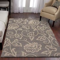 Carolina Weavers Eden Collection Andy Grey Area Rug - 6'7 x 9'8