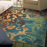 Havenside Home Lindhurst Rainbow Multi Area Rug - 6'7 x 9'8