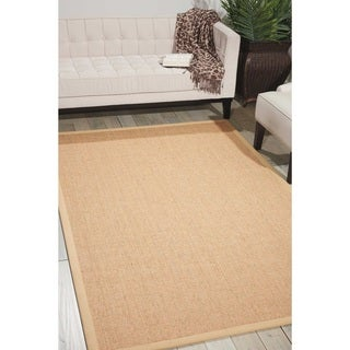 Michael Amini Brilliance Sand Area Rug by Nourison (5' x 7'6)