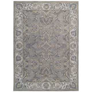 Joseph Abboud by Nourison Sepia Grey Silver Rug (5'6 x 8'6)