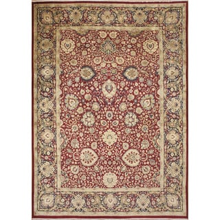 Presley Red Hand-Knotted Rug (8'11 x 11'1)
