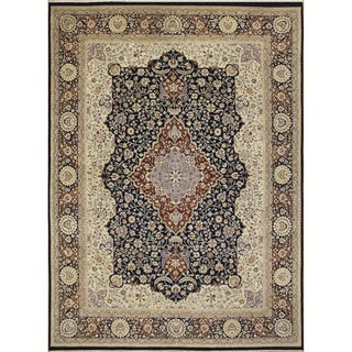 Haleigh Blue Hand-Knotted Rug (8'10 x 12'0)