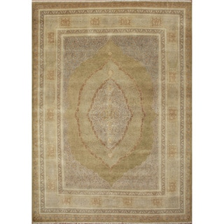 Edita Gold Hand-Knotted Rug (9'2 x 12'0)