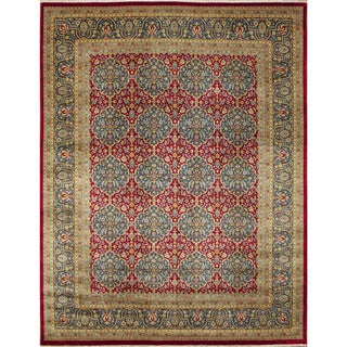 Stanley Red Hand-Knotted Rug (8'3 x 9'11)